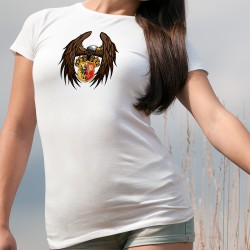 Frauenmode T-shirt - Genfer Adler