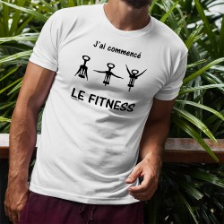 T-Shirt - J'ai commencé le Fitness