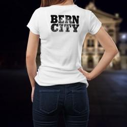 Donna T-shirt - BERN CITY Black - Palazzo federale