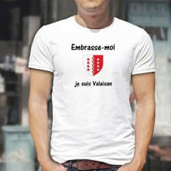Men's T-Shirt - Embrasse-moi, je suis Valaisan