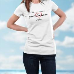 T-shirt humoristique mode dame - La grand-maman parfaite