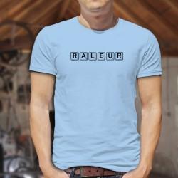 T-Shirt humoristique mode homme - Râleur - scrabble