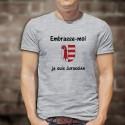Uomo T-Shirt - Embrasse-moi, je suis Jurassien