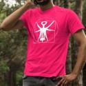 Baumwolle T-Shirt - Der Vitruvianische Korkenzieher