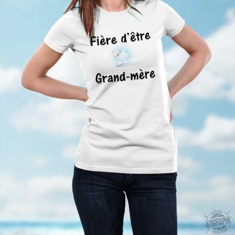 Damenmode T-shirt - Fière d'être Grand-mère
