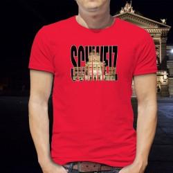 Herren Mode Baumwolle T-Shirt - Schweiz - Bundeshaus