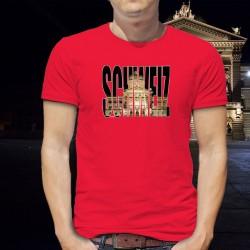 Men's cotton T-Shirt - Schweiz