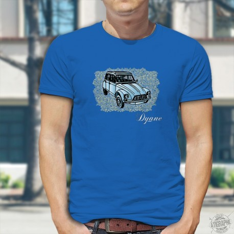 T-shirt coton mode homme - Dyane Citroën
