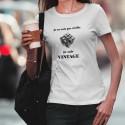 T-Shirt dame - Vintage Rubik's cube
