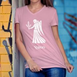 T-Shirt coton dame - signe astrologique - Vierge