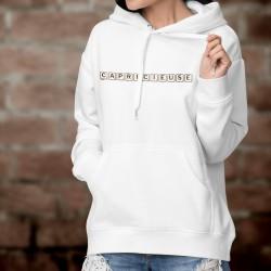 Kapuzen-Sweatshirt - Capricieuse
