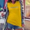 T-shirt mode coton Dame - Innocente - scrabble