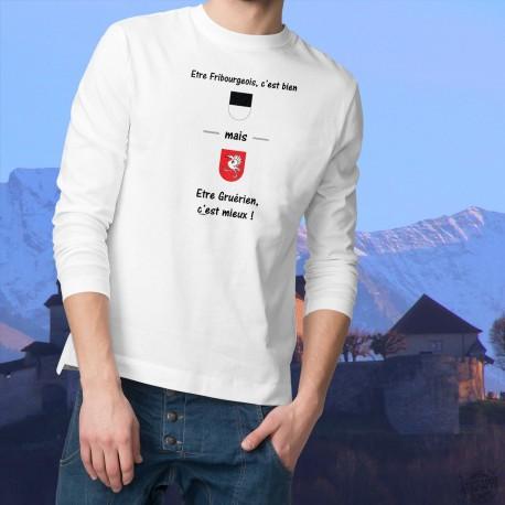 Men's Sweatshirt - Gruérien, c'est mieux