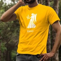 uomo Moda cotone T-Shirt - Segno Zodiacale Vergine