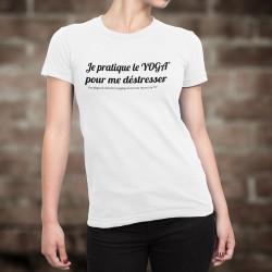 T-Shirt dame - Yoga féminin