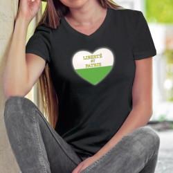 Baumwolle T-Shirt - Waadtlander Herz
