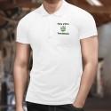 Uomo Polo Shirt - Fier d'être Yverdonnois