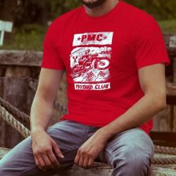 Uomo cotone T-Shirt - PAPY Motard Club