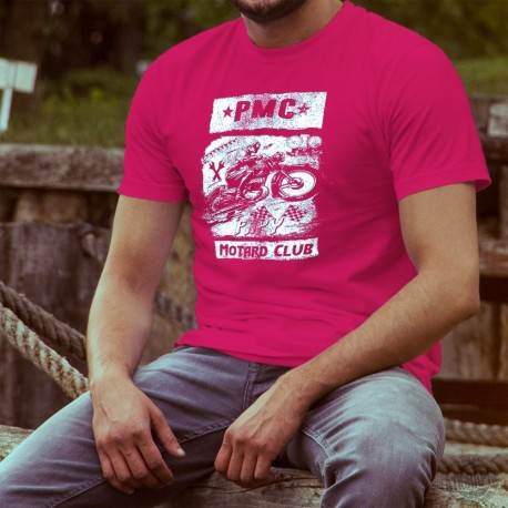 Men's cotton T-Shirt - PAPY Motard Club
