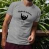 T-Shirt humoristique homme - Règle de la barbe 7 - Ma barbe, mes règles
