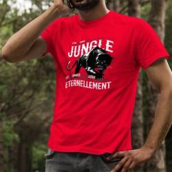 Men's cotton T-Shirt - La vie, la Jungle