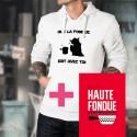 Pack Book and Hoodie - La Haute Fondue est avec Toi