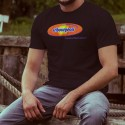 Men's cotton T-Shirt - Fribourgeois, bien mieux. Et plus longtemps