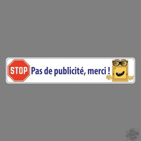 Sticker - Pas de publicité, merci