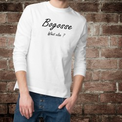 Men's Funny Sweatshirt - Bogosse, What else ?