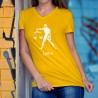 Signe astrologique Balance (Libraque) ♎ T-Shirt coton dame pour les personnes du 23 septembre au 22 octobre