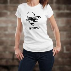 Donna T-shirt - segno astrologico Scorpione