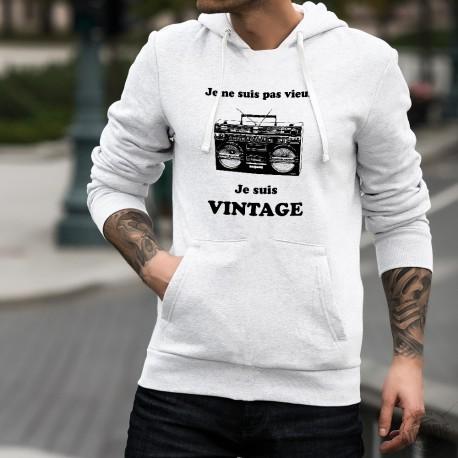 Kapuzen-Sweatshirt - Vintage Radio