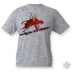 Kids T-shirt - Dragon LOL XD MDR, Ash heater