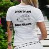T-Shirt mode dame humoristique - Deuche un Jour