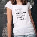 Gaufres, Cookies et Chocolats ✿ T-Shirt mode dame
