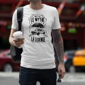T-Shirt - Golf GTI, le mythe, la Légende