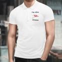 Uomo Polo Shirt - Fier d'être Jurassien
