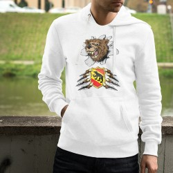 Hoodie - Bern Bear and coat of arms