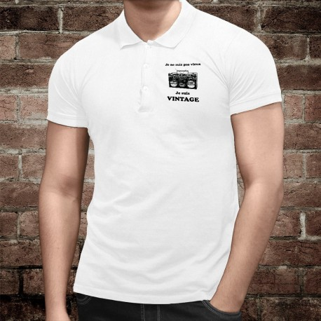 Herren Mode Polo shirt - Vintage Radio