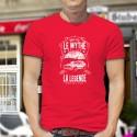 T-Shirt coton - Golf GTI, le mythe, la légende
