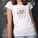 T-Shirt dame - Mon coeur pour boussole