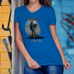T-shirt mode coton Dame - POISON of Humanity - la pollution