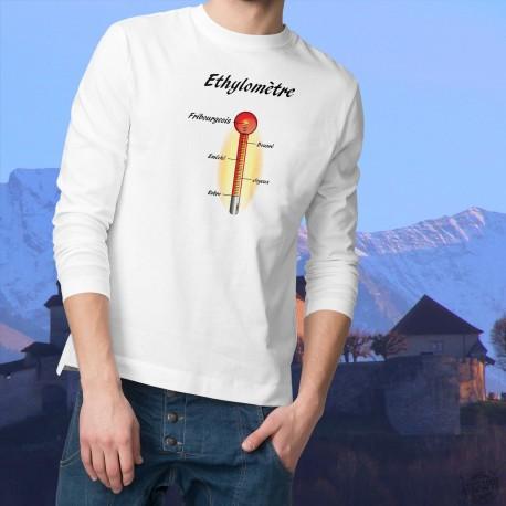 Herren Sweatshirt - Ethylomètre fribourgeois