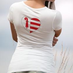 T-Shirt mode femme - Coeur jurassien