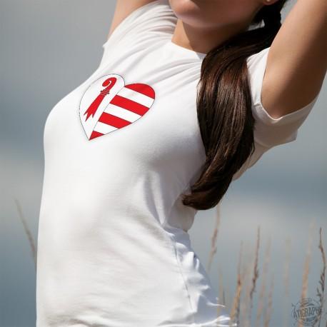 Frauenmode T-shirt - Jura Herz