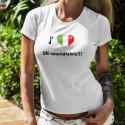 J'aime UN neuchâtelois ❤ T-Shirt mode dame