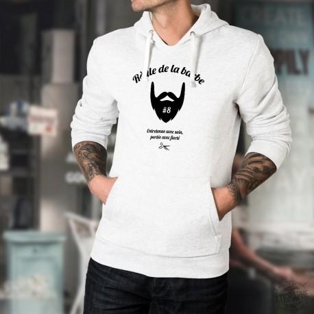 Kapuzenpulli - Règle de la barbe N°8