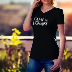 Donna moda cotone T-Shirt - Game of Fashion - (il Trono di Spade)