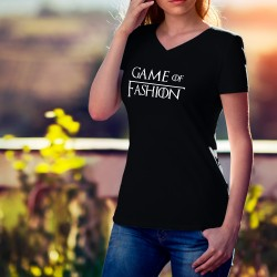 Women's cotton T-Shirt - Game of Fashion (Game of Thrones)