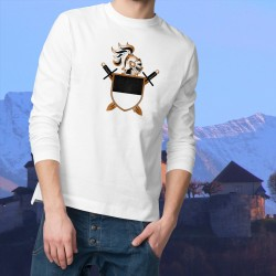 Men's sweater - Fribourg helmet and swords